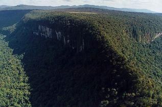 Luftaufnahme des Monte Caburaí