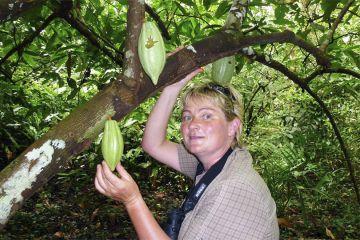 Heike Stock mit wildem Kakao