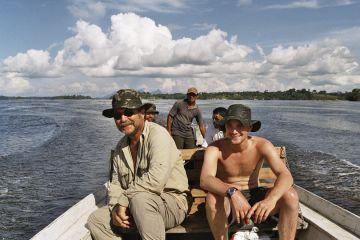 Rückfahrt mit dem Boot