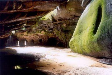 El-Fosso-Höhlen