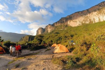 Das Basis-Camp am Roraima-Tepui