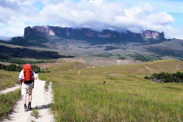 Auf dem Weg zu den Ausläufern des Monte Roraima